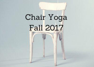 Chair Yoga Classes